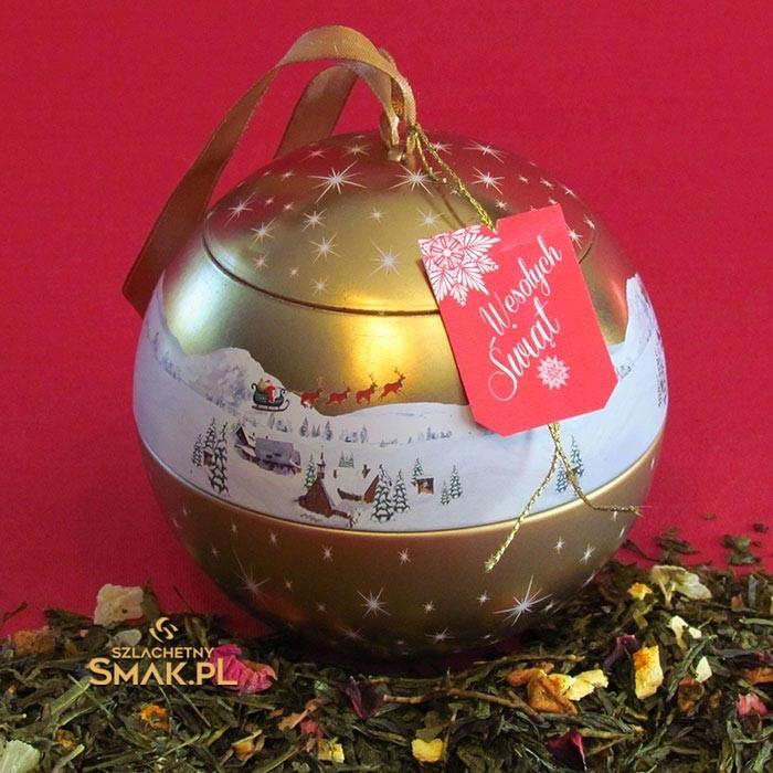 Świąteczna Bombka | Herbata w Puszce