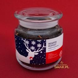 Szklana Śnieżynka / Herbata Renifer Rudolf