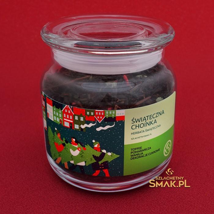 Szklana Śnieżynka / Herbata Świąteczna Choinka