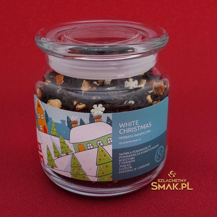 Szklana Śnieżynka / Herbata White Christmas