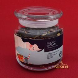 Szklana Śnieżynka / Herbata Zimowy Wieczór