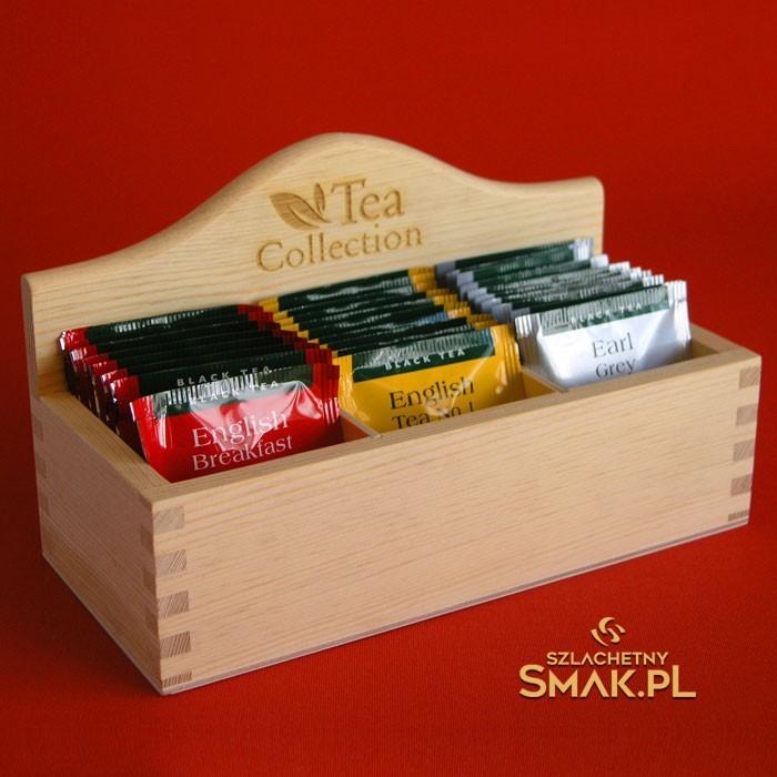 Ekspozytor z Herbatą Ahmad Tea