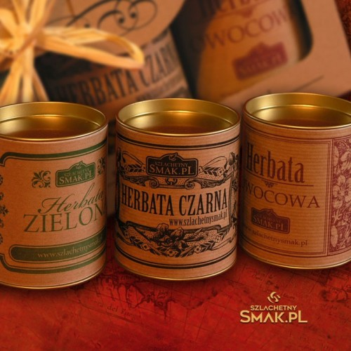 Zestaw Retro | herbata