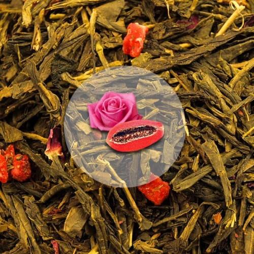 Herbata Zielona Japońska Wiśnia sencha