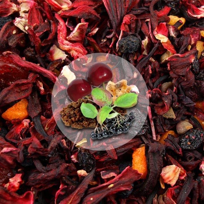Herbata Owocowa Wiśniowy Poncz