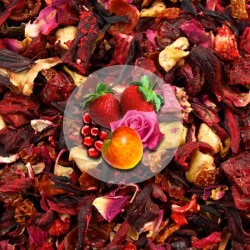 Herbata Owocowa Żurawina-Truskawka