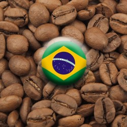 Kawa Arabica Brazylia Santos J