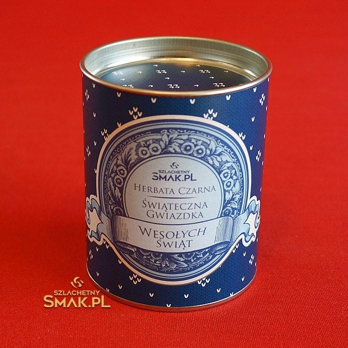 Herbata Świąteczna Gwiazdka | puszka