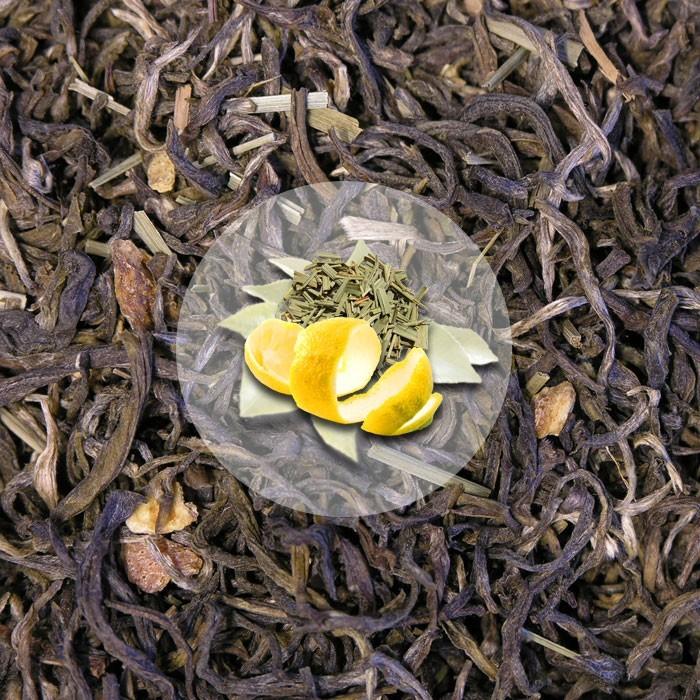 Herbata Biała Fujian White Lemon