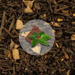 Herbata Czarna Czekolada - Mięta