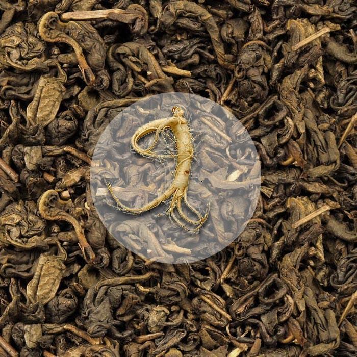 Herbata Zieona Żeńszeniowa