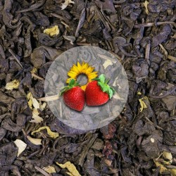 Herbata Zielona Truskawka z Mango