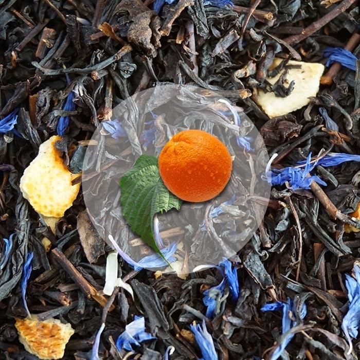 Herbata Czarna Hiszpańska Mandarynka
