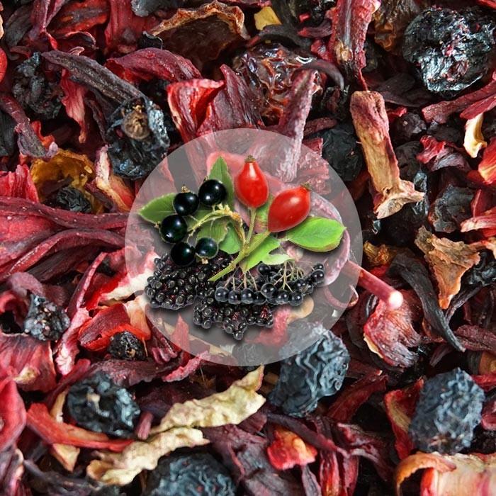 Herbata Owocowa Jagodowy Raj