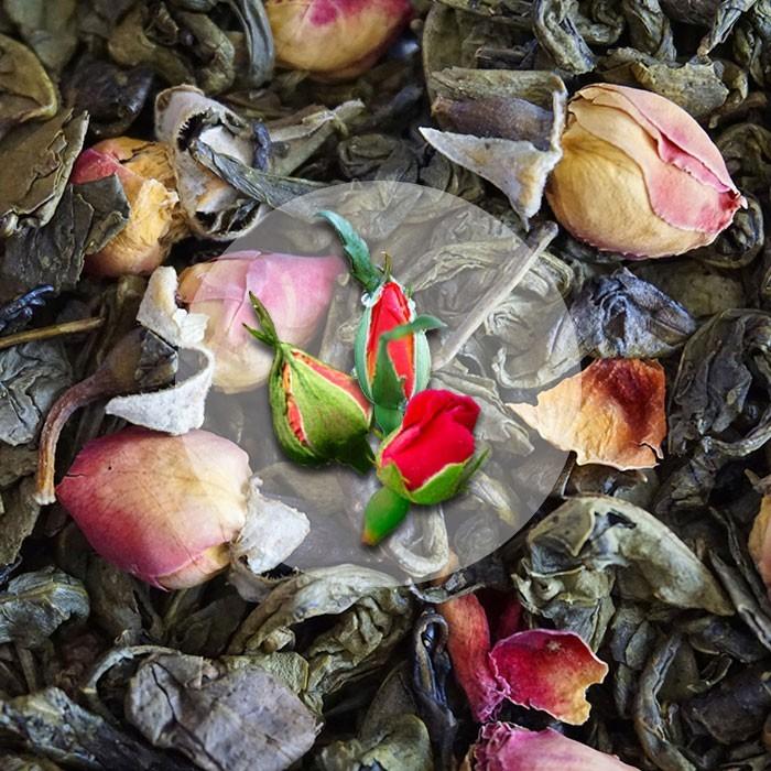 Zielona Herbata Chińska Róża
