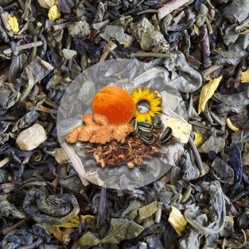 Herbata Zieona Imbir Miód