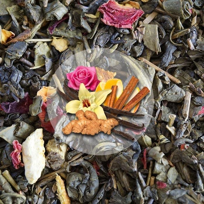 Herbata Zielona Ognie Jesieni