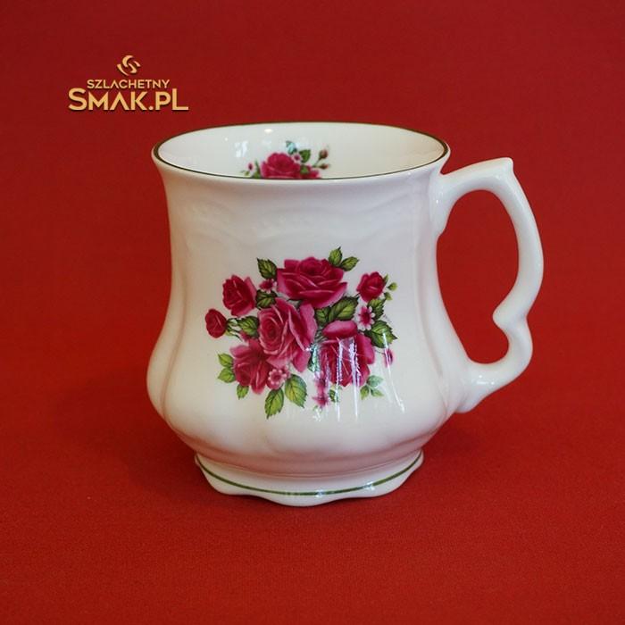 Babciny kubek / Róże