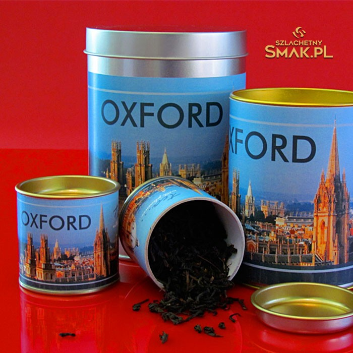 Puszki z herbatą
