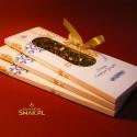 Saszetka kartonowa z herbatą świąteczną