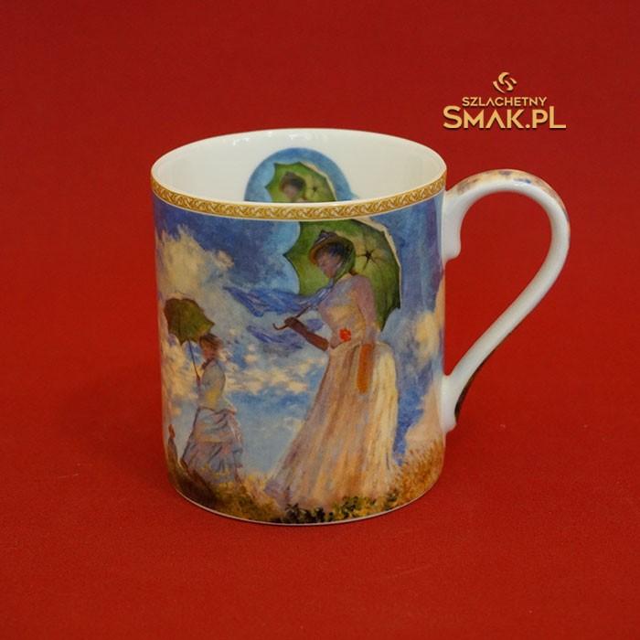 Kubek / malarstwo Claude Monet