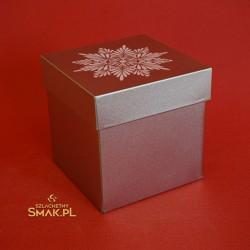 Puszka metalowa świąteczna