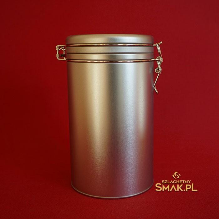Puszka metalowa na kawę