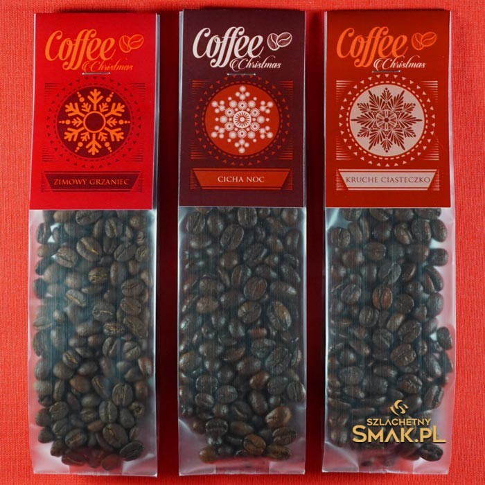 Saszetki z Kawą Świateczną