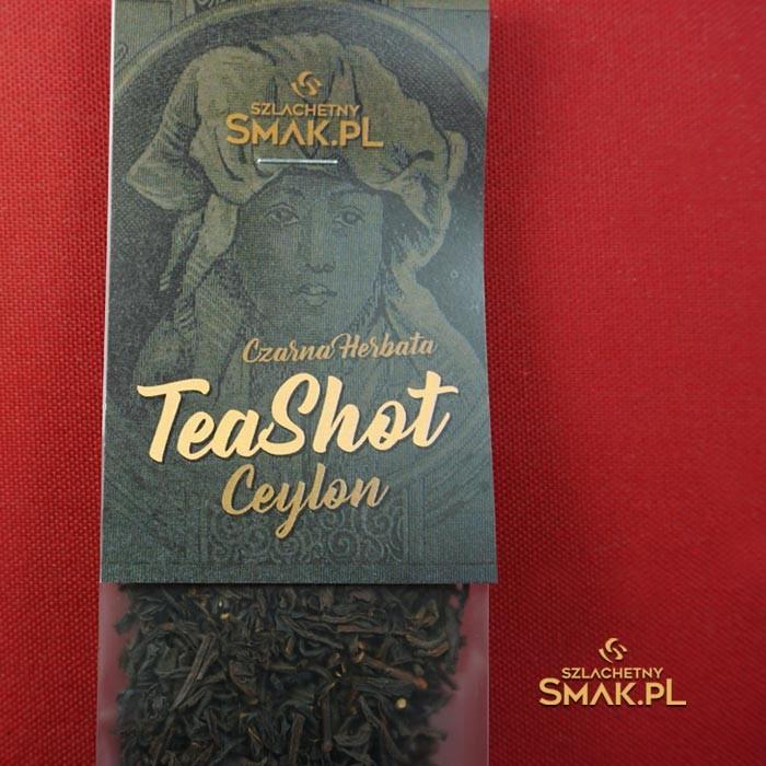 Tea Shot / Herbata Ceylon