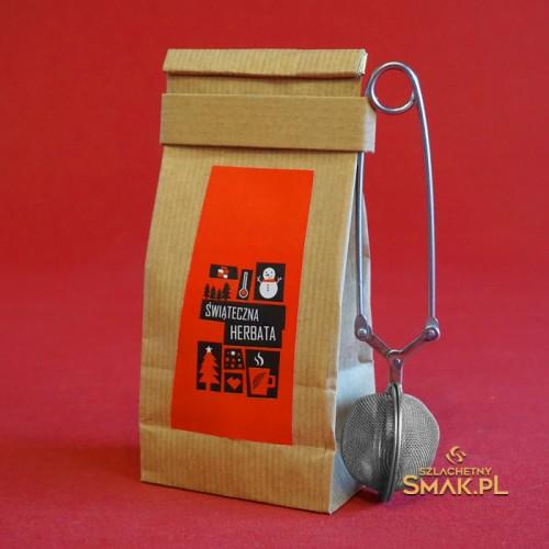 Herbata świąteczna + zaparzacz