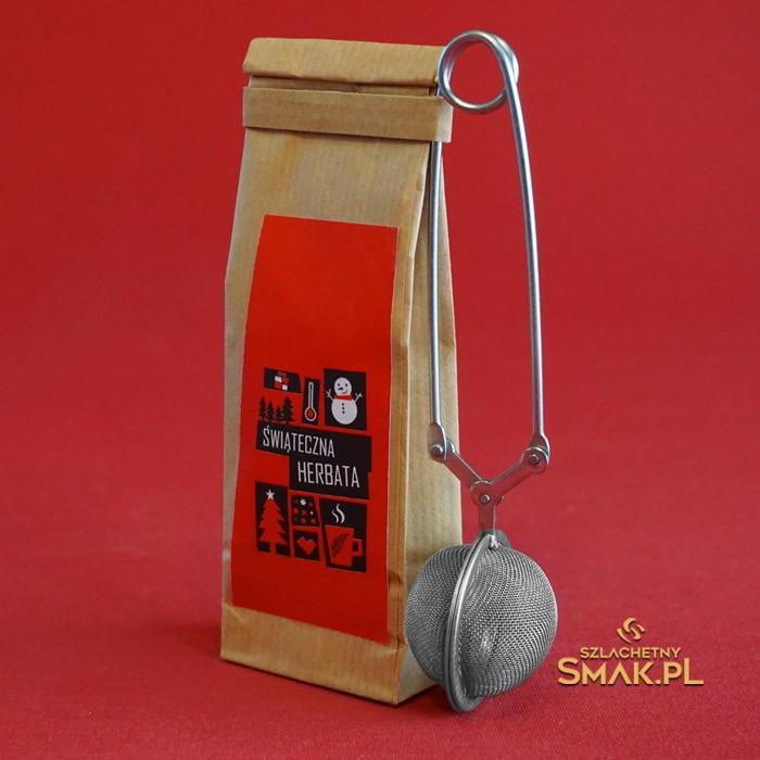 Herbata świąteczna 30g + zaparzacz