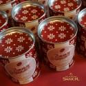 Kawa świąteczna w puszkach