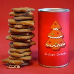 Ciasteczka świąteczne w puszce