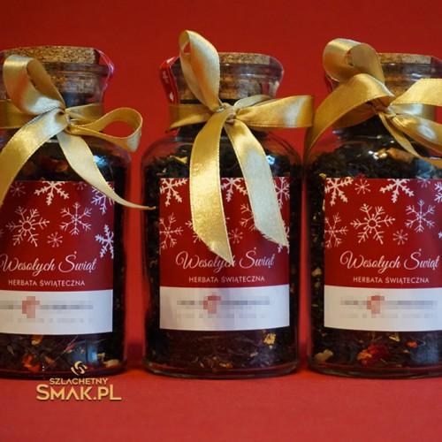 Flakonik z herbatą świąteczną