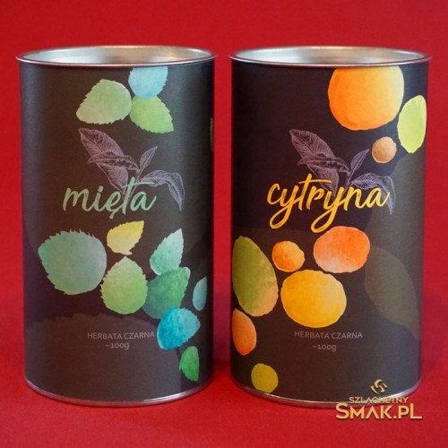 Cytryna z Miętą / zestaw herbat