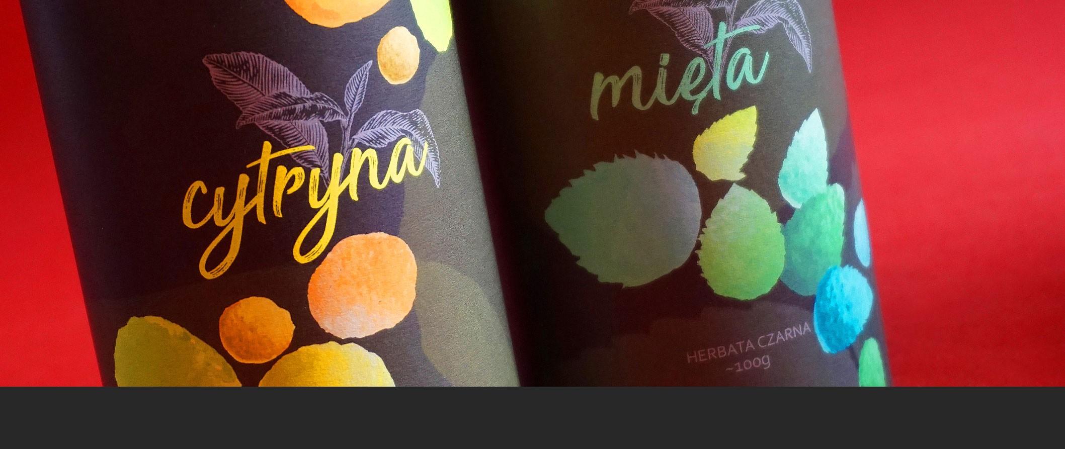 Cytryna z Miętą - zestaw herbat