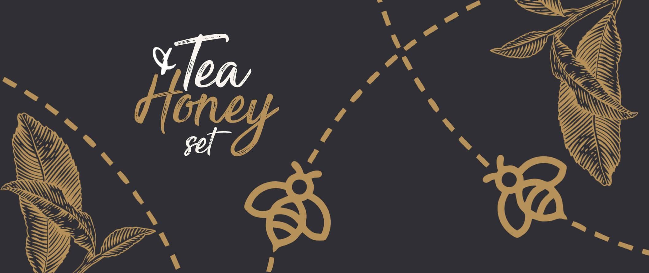 herbata z miodem zestaw prezentowy